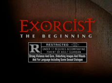 Warner Brothers: Exorcist, The Beginning – Movie (2004)
