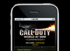 Call Of Duty Iphone App (2010)