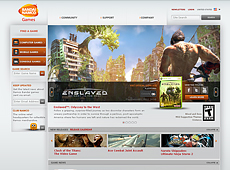 Bandai Namco Website (2010)