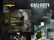 Activision – Call Of Duty: CODLive Website (2010)