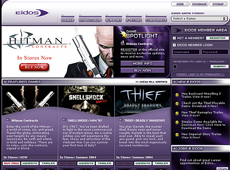 Eidos Website (2004)