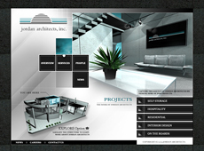 Jordan Architects Website (1999)