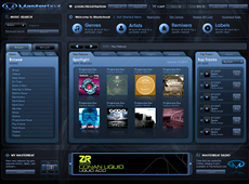 Masterbeat Flash Webstore (2011)
