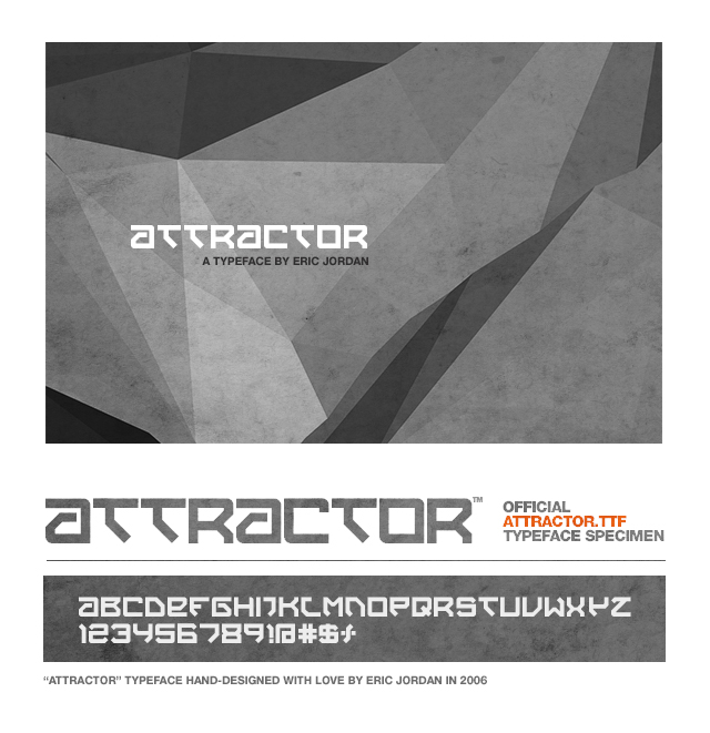 Attractor Font Download