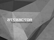 Attractor Typeface (2014)